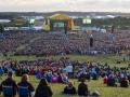 Panorama-billede over afslutningsshowet til Spejdernes Lejr 2012. Foto: Mads H. Danquah